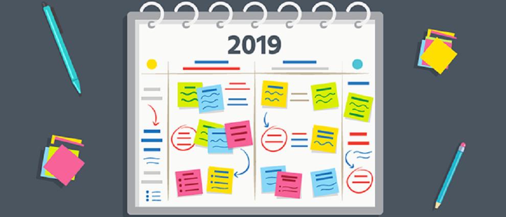 План мероприятий на 2019 год!